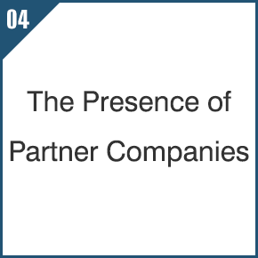 04 The Presence of Partner Companies