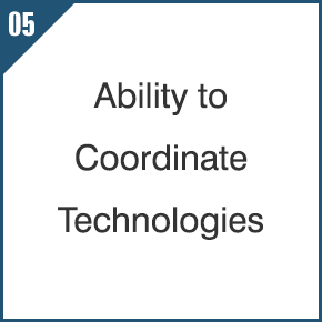 05 Ability to Coordinate Technologies